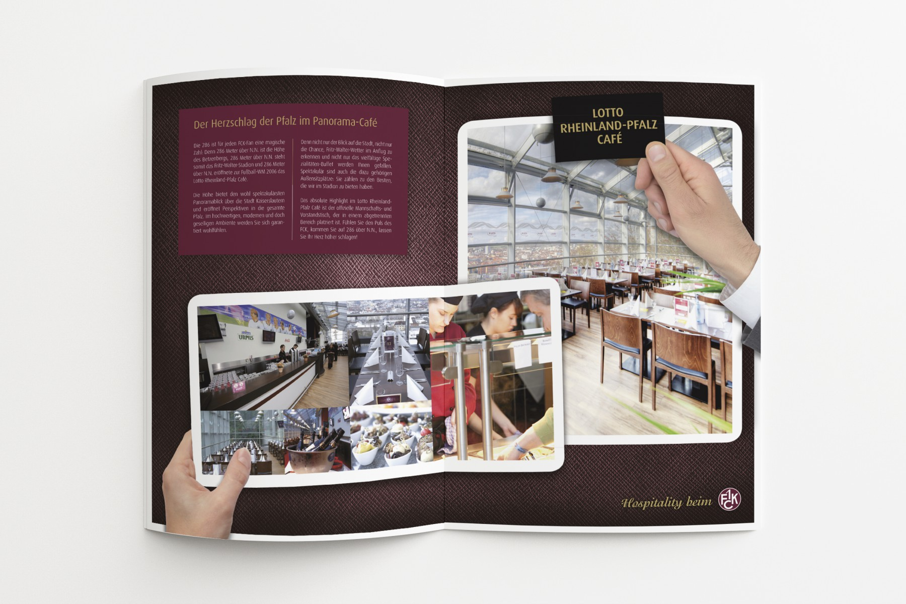 Hospitality-Broschüre 1. FC Kaiserslautern/SPORTFIVE