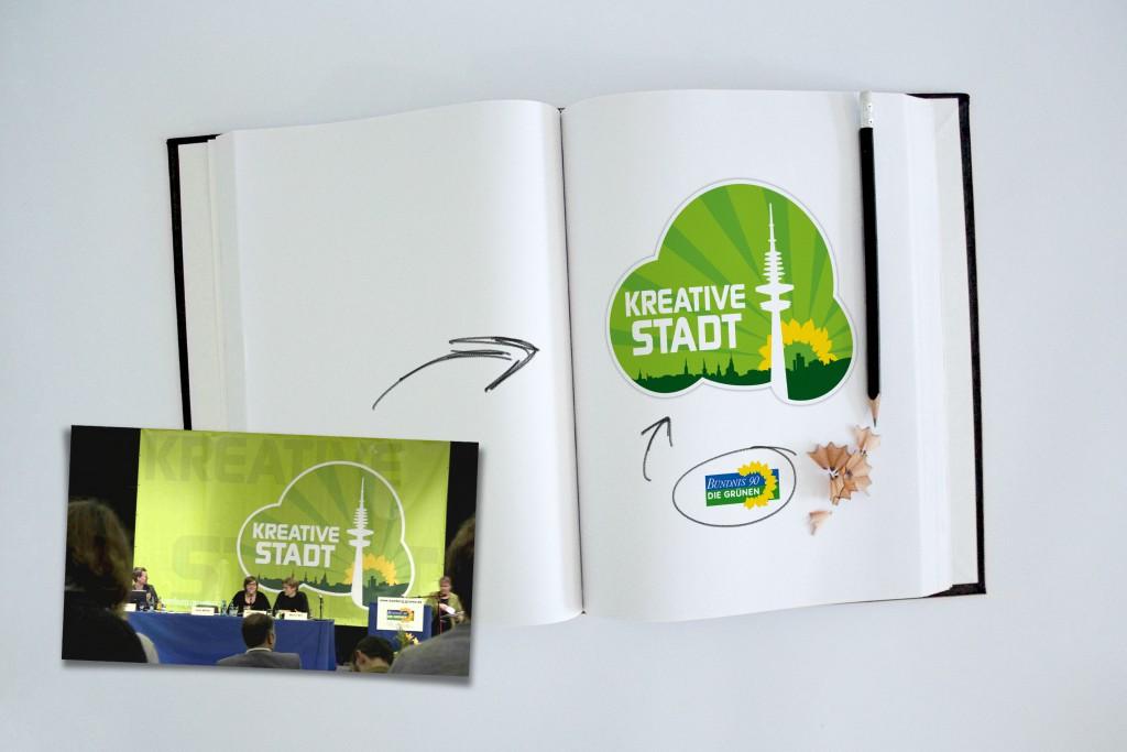 Kreative Stadt Konzept Die Grünen