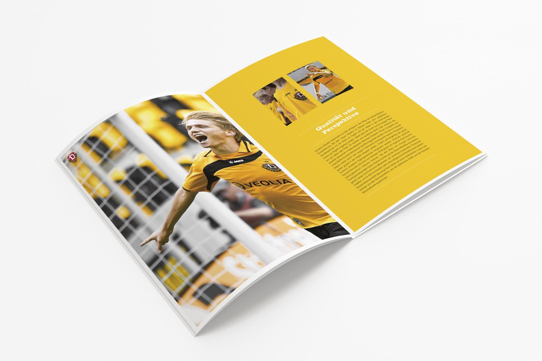 Imagebroschüre Dynamo Dresden/SPORTFIVE