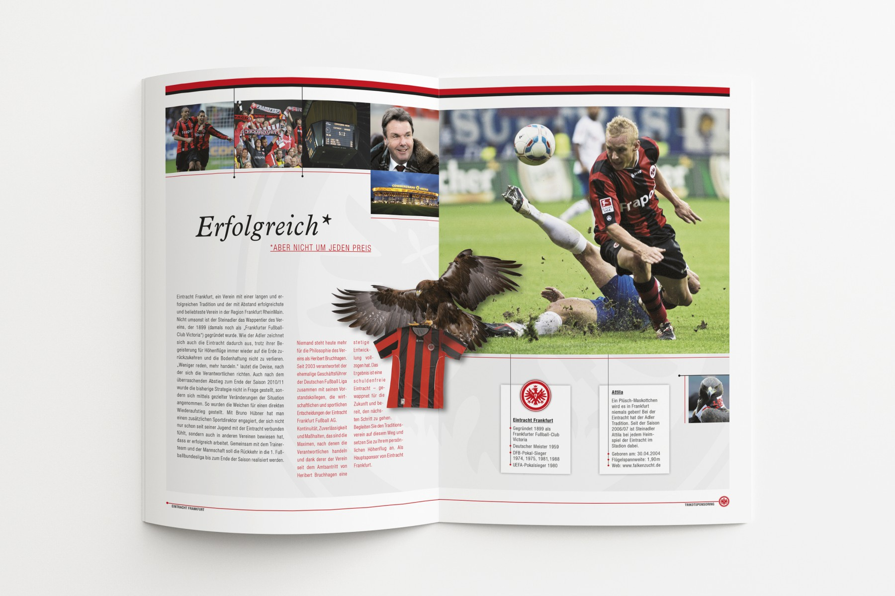Trikot-Broschüre Eintracht Frankfurt/SPORTFIVE