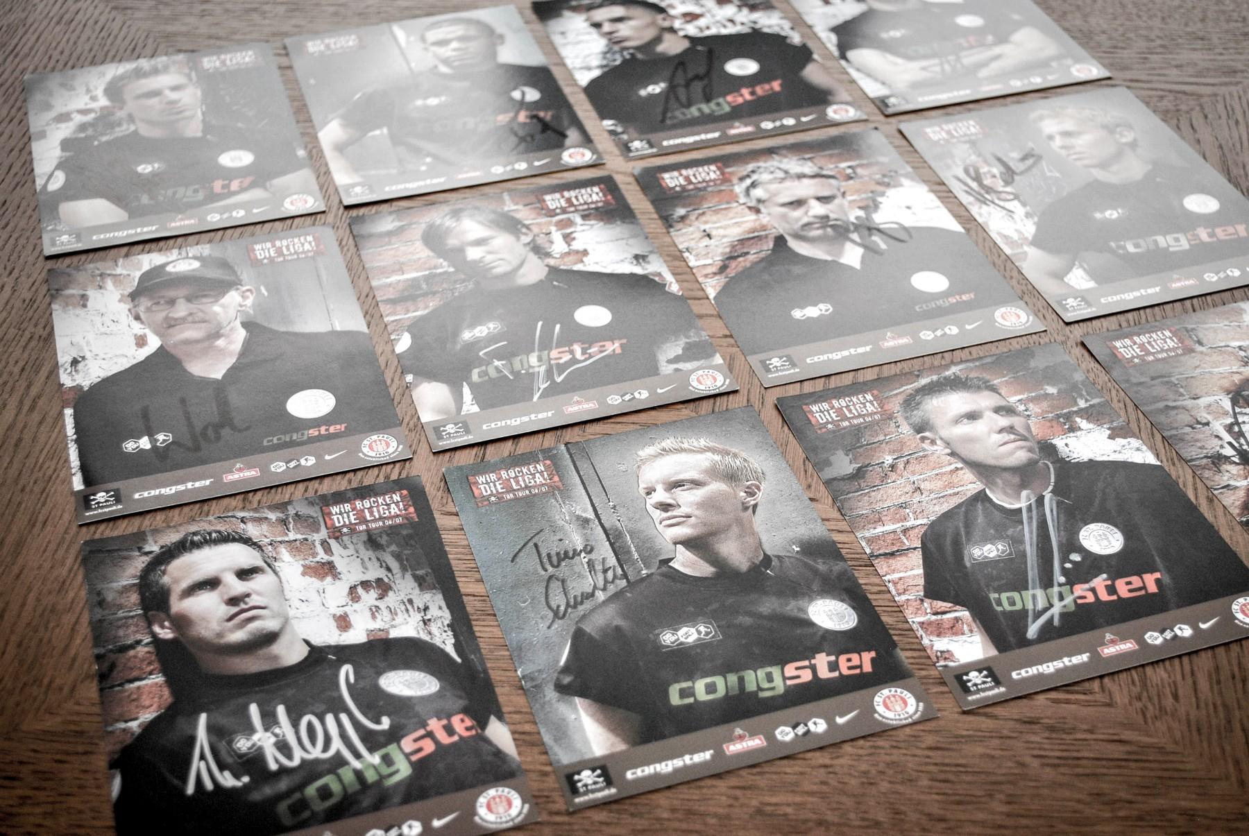 Autogrammkarten FC St. Pauli